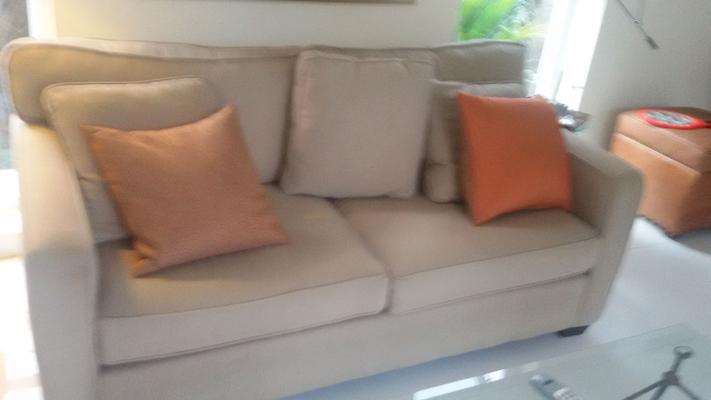 Vinyl Sofa Cleaning In A Yacht, Fabric ...